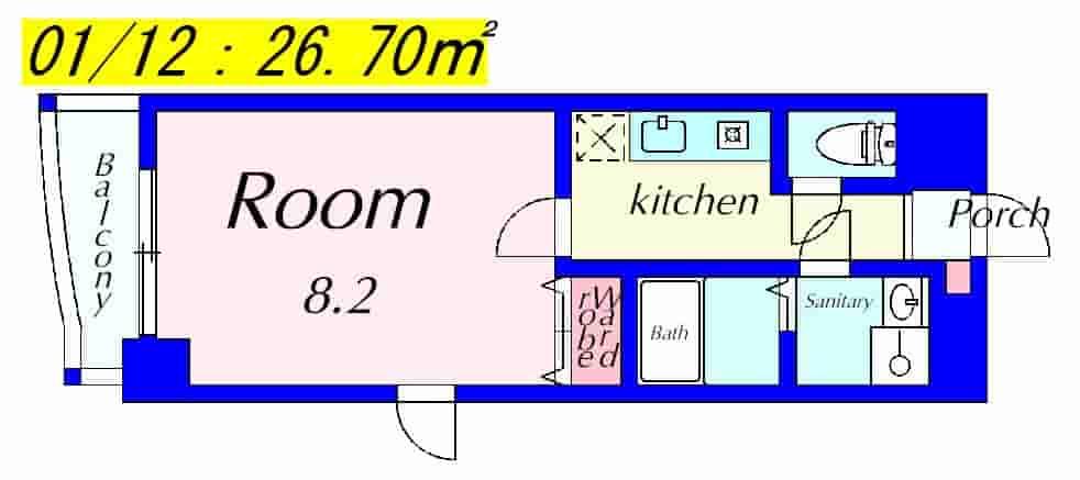 MNK-5の間取り図のサムネイル