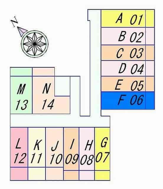 KDXレジデンス南草津の間取り図のサムネイル