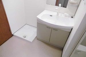 STキューブ 居室独立洗面台の写真