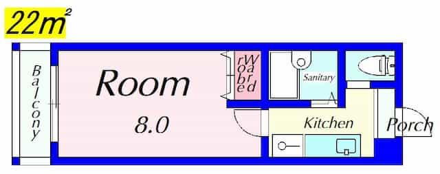EM1022の間取り図のサムネイル