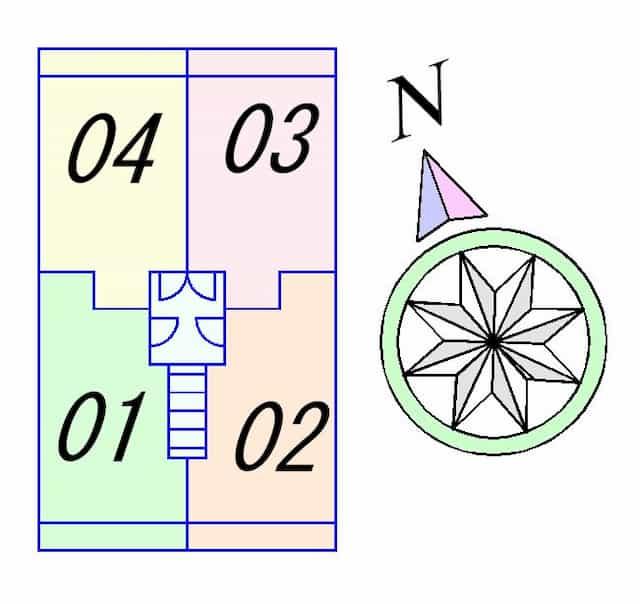 コリンドゥ草津の間取り図のサムネイル