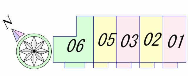 ウィンオカダヤの間取り図のサムネイル
