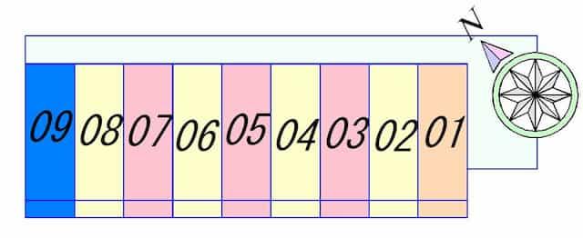 ブライト45の間取り図のサムネイル