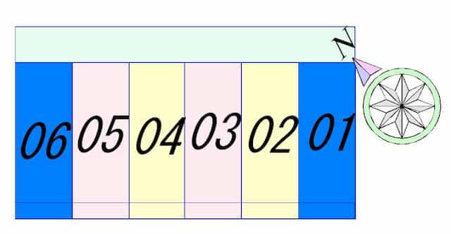 ソレイユ豊の間取り図のサムネイル