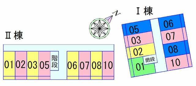 エリートNAKANO1、2の間取り図のサムネイル