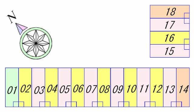 リベリー南草津の間取り図のサムネイル
