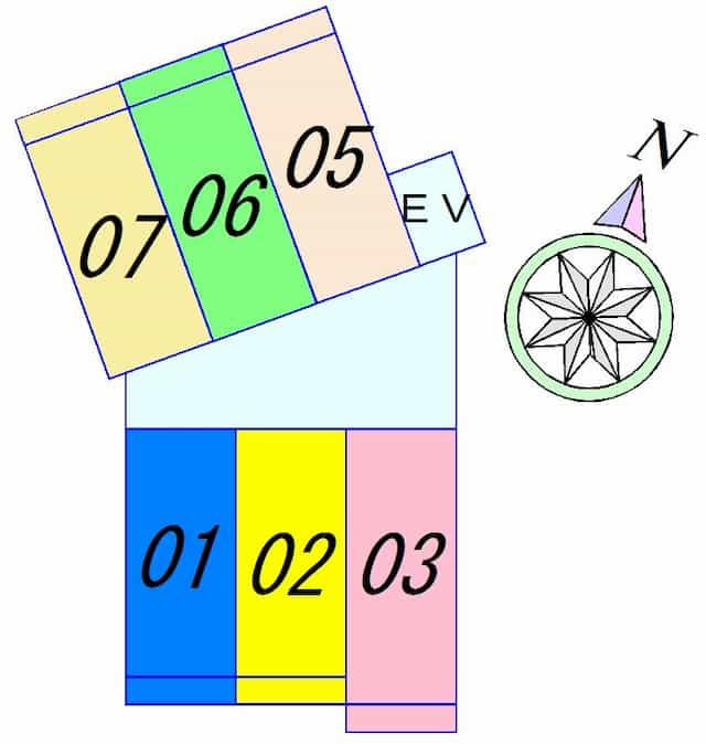 アフロディーテの間取り図のサムネイル