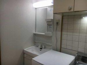 アートプラザ124の洗面所