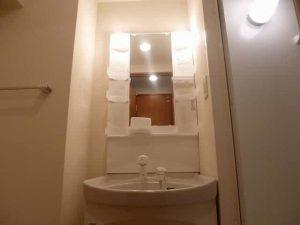 エンゼルプラザイースト1の洗面台