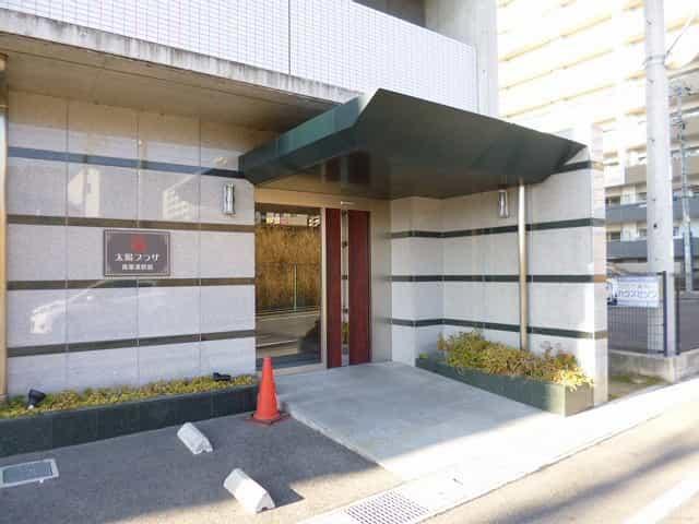 太陽プラザ南草津駅前外観、共用部写真
