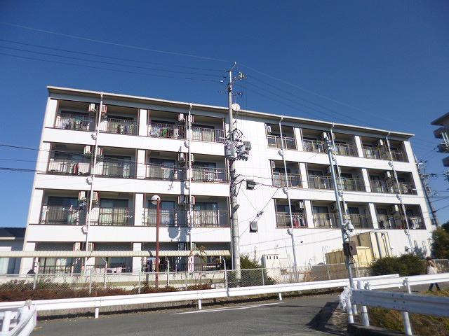 ルミナスコマイ外観、共用部写真