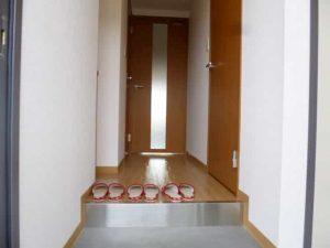 feliciaうさぎの玄関