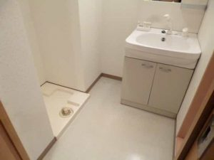 GROOVE南草津Ⅱの洗面所