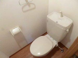 ヴェルジュ南草津のトイレ