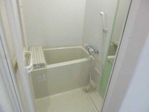 ピュアドミトリーシミズの3点セパレートのお風呂