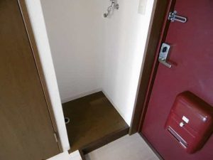 パレ南笠佐わらびの洗濯機置き場