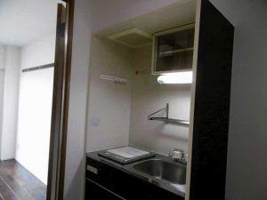 マリーブ1820のキッチン