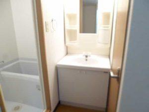 パラシオK1の独立洗面台