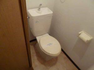 パラシオK1のトイレ