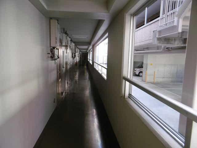 カルテットコボリC棟外観、共用部写真