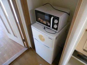若草フェニックスマンションの冷蔵庫スペース