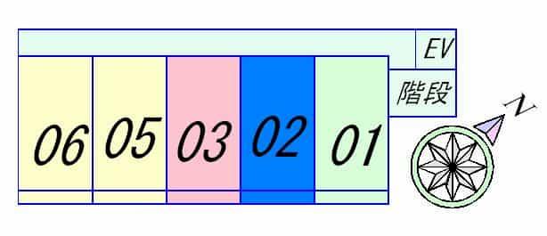 GLANZ HAUZ(グランツハウス)の間取り図のサムネイル