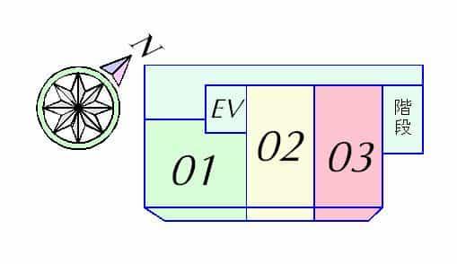 ソレイユヤマダの間取り図のサムネイル