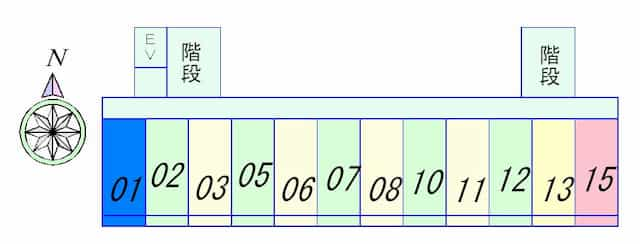 アイランド小野山(食事サポート付)の間取り図のサムネイル
