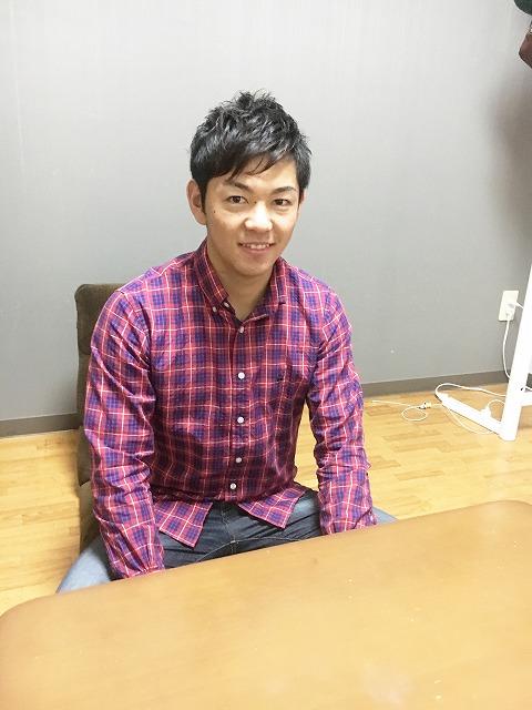 在学生インタビュー千葉県出身 W君の写真