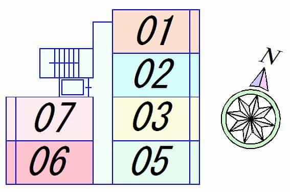 BlezioⅢ(ブレジオ3)の間取り図のサムネイル