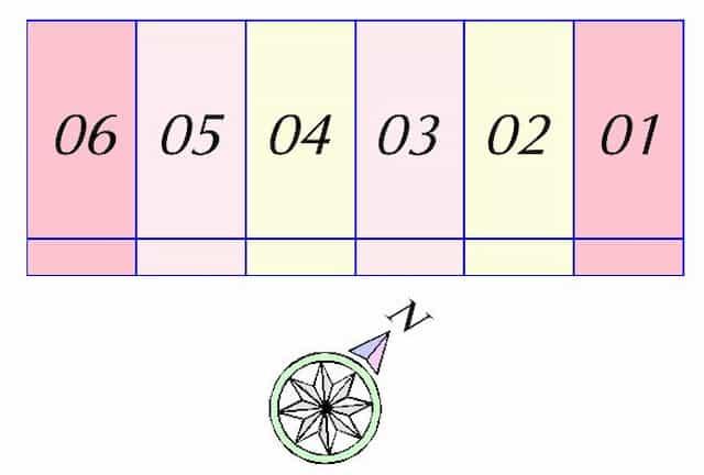 ソレイユ豊PART2の間取り図のサムネイル