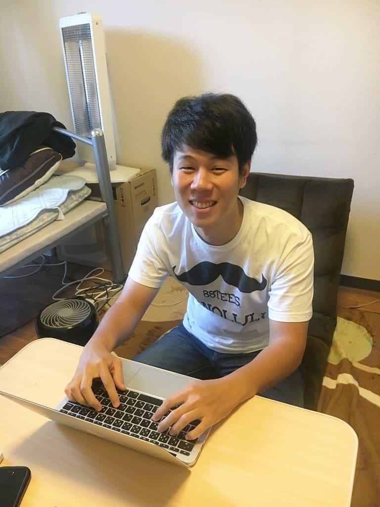 在学生インタビュー福岡県出身 E君の写真