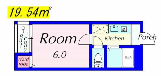 プチメゾン2の間取り図のサムネイル