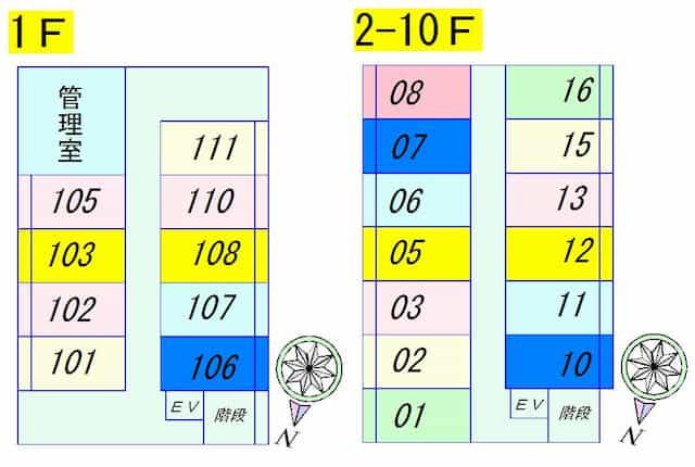 グッドライフ南草津Ⅰの間取り図のサムネイル