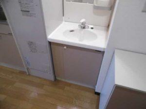 クレアトゥール21の洗面台