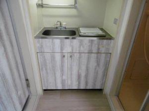 マリーブ1843のキッチン
