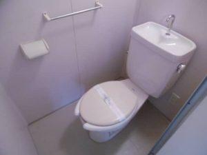 マリーブ1843のトイレ