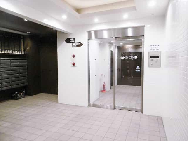 プリオールZEN 弐番館外観、共用部写真