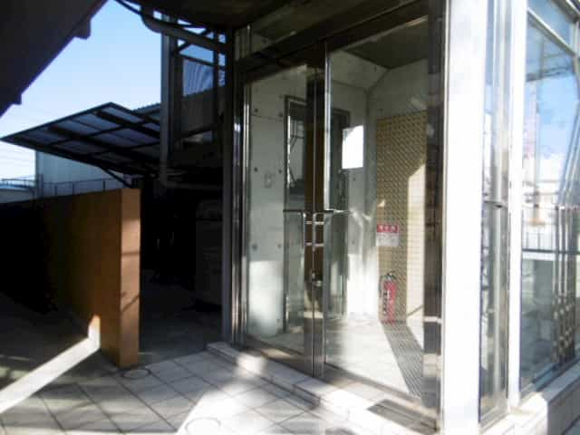 ノースビレッジ草津外観、共用部写真