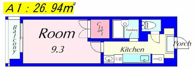 アートプラザ124の間取り図のサムネイル