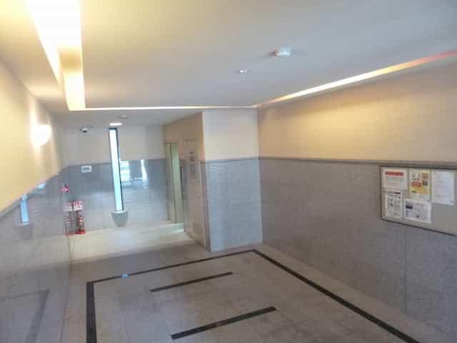 エンゼルプラザ瀬田駅前外観、共用部写真