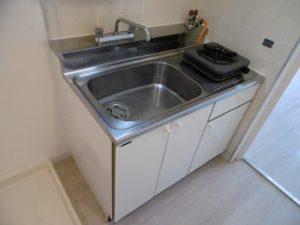 MNK-1のキッチン