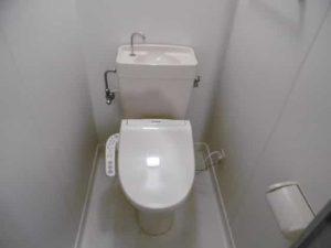 精美寤館のトイレ