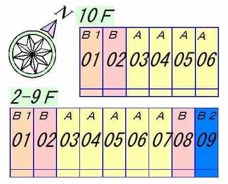 グランソレイユ3の間取り図のサムネイル