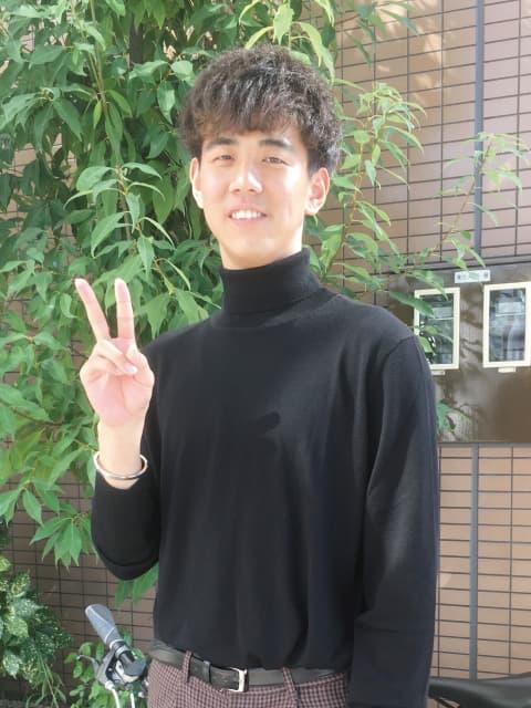在学生インタビュー岐阜県出身 M君の写真
