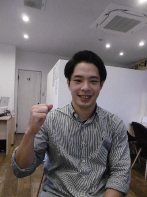 在学生インタビュー神奈川県出身 S君の写真