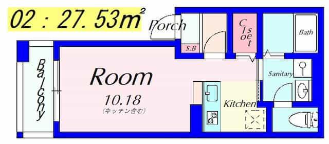 GK広野【新築】の間取り図のサムネイル
